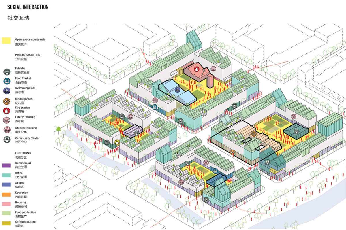 How the new living quarters are designed to help during quarantines