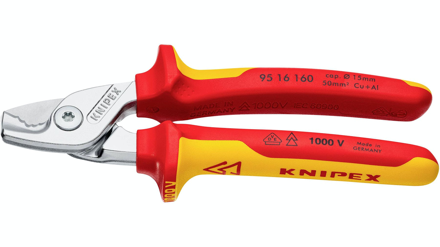 image of KNIPEX StepCut Cable Shears