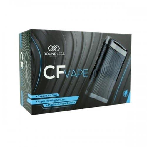 Boundless CF Vaporizer Packaging