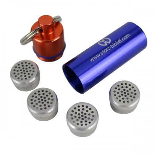 Storz & Bickel Capsule Caddy Keychain All Contents