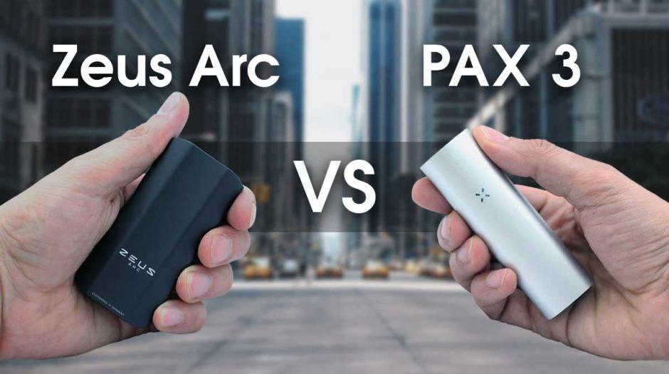 Zeus Arc & PAX 3 Comparison Review