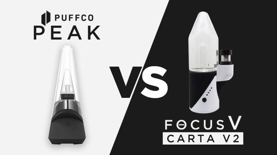 Puffco Peak VS Focus V Carta V2 Review
