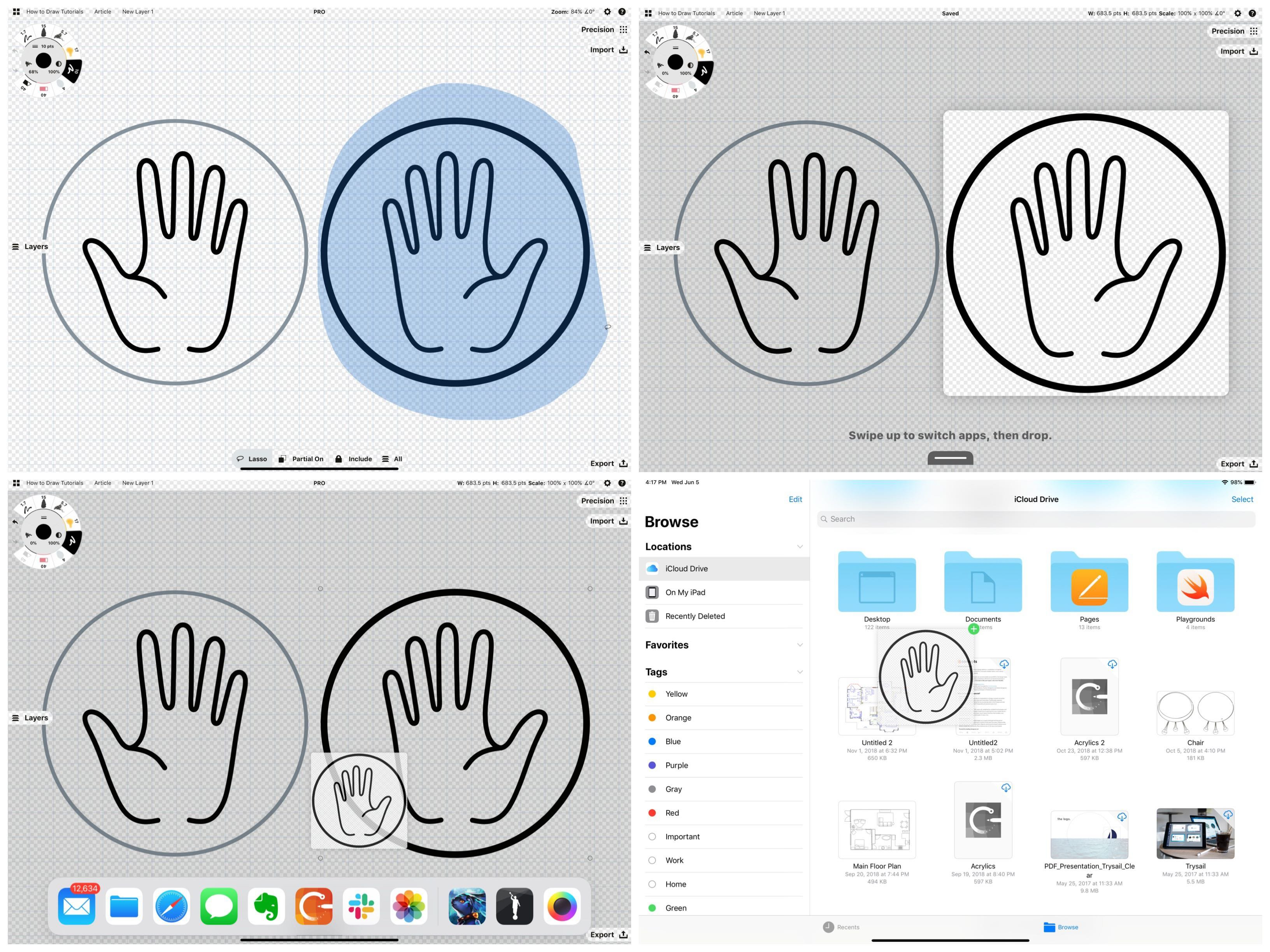 How to Make Icons • Concepts App • Infinite, Flexible Sketching