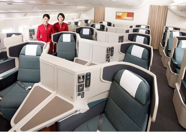 How to Upgrade to Business Class for Cheap
