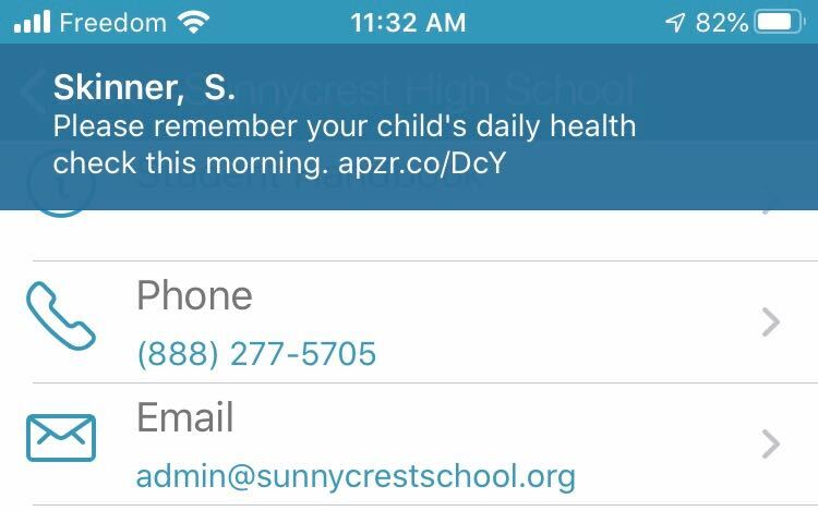 Health Check Reminders
