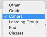 Cohorts