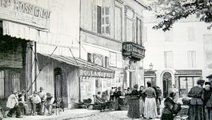 Una targa per ricordare l'eccidio dei piemontesi del 1893 ad Aigues-Mortes