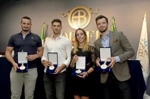 Premiati gli 11 atleti italiani arrivati quarti alle Olimpiadi Invernali di PyeongChang 2018