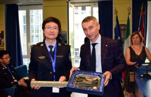 Futuri ufficiali della polizia cinese in Regione Piemonte