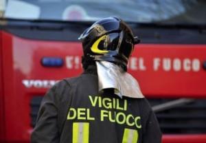 Incendio nella notte all'impianto Ambienthesis di Orbassano