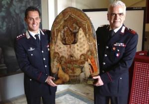 Ritrovato a Moncalieri un bassorilievo rubato 40 anni fa