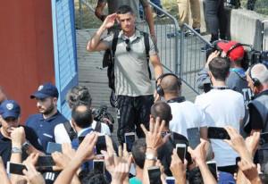 A Verona unità anti-terrorismo per il debutto di Cristiano Ronaldo