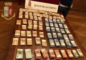 Torino: la Polizia di Stato sequestra oltre 420 mila euro