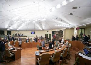 In Consiglio Regionale un minuto di silenzio per i caduti sul lavoro