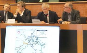 Conferenza sulla Torino-Lione come prolungamento verso l'Atlantico