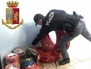 Furto di rame, arrestato dalla Polizia di Stato un cittadino rumeno