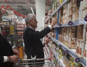 Anche Sergio Chiamparino al Banco Alimentare