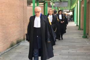 Gli avvocati di Torino protestano contro la riforma della prescrizione