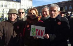 Anche la Regione Piemonte alla manifestazione per il sì alla Tav