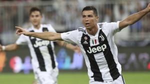 Cristiano Ronaldo infallibile, la Supercoppa va alla Juve