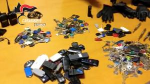 Accusati di centinaia di furti: in manette marito, moglie e genero, denunciate le tre figlie