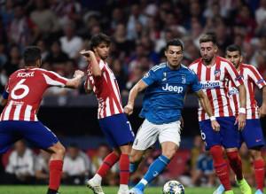 Juve beffata a Madrid, l'Atletico acciuffa il pari al 90'