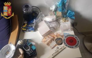 Torino: oltre 3 kg di droga sequestrata dalla Polizia di Stato
