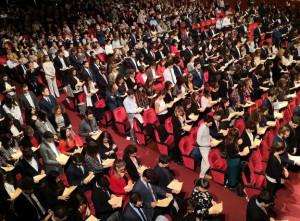 Torino, hanno giurato 510 nuovi medici