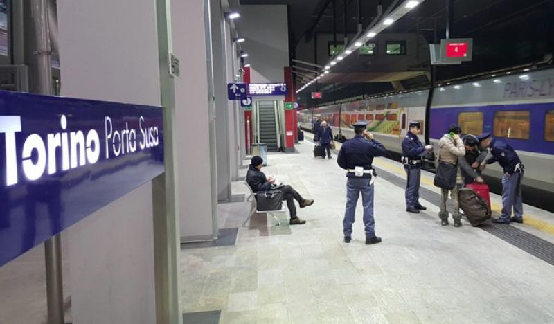 Torino: attività della Polizia di Stato nelle stazioni e sui treni in Piemonte e Valle d'Aosta