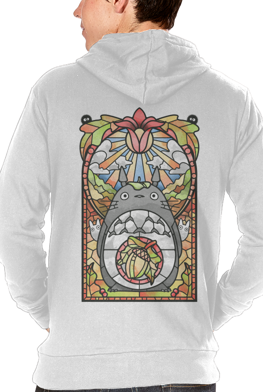 Stained Glass Forest Spirit