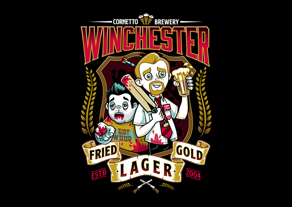 Fried Gold Lager