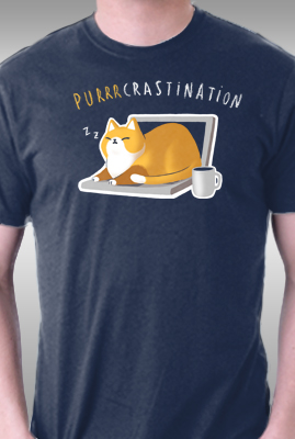 Purrrcrastination