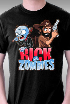 Rick vs Zombies