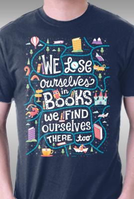 We Lose Ourselves in Books