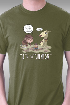J is for Junior