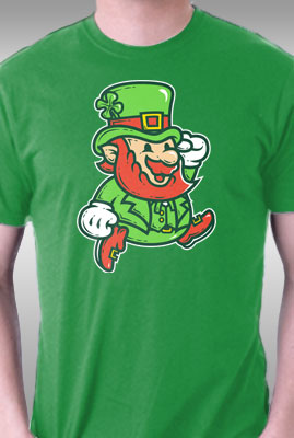 Lucky Jumping Leprechaun