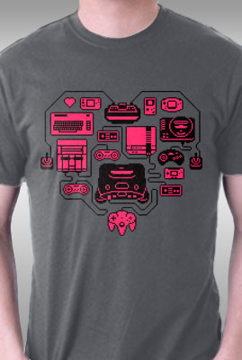 Retro Gamer Heart