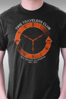 Time Travelers Club- Hill Valley