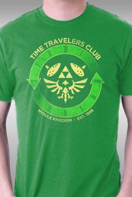Time Travelers Club- Hyrule
