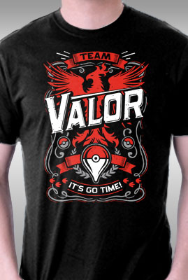 It's Go Time Valor