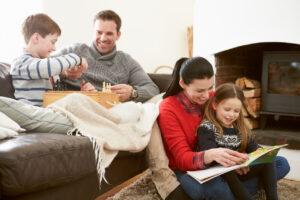 家族とのコミュニケーション