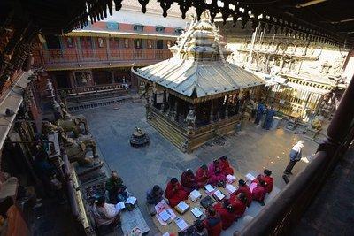 Pragyan paramita reading ceremony