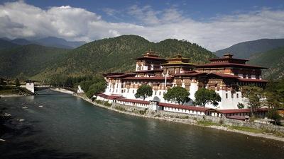 Punakha dzong monastery bhutan tour