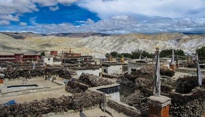 Lho manthang village