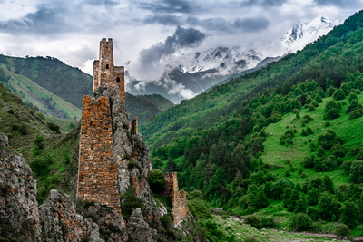 Cultural tours   ingush towers 2