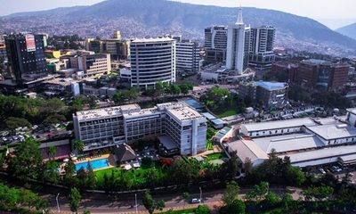 Areial view of kigali