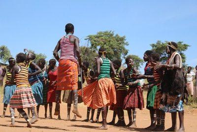 Karimajong dancers kidepo