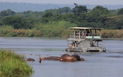 Murchison falls national park boat