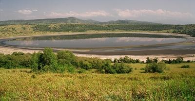 Qenp crater lake