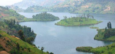 Lake kivu islands